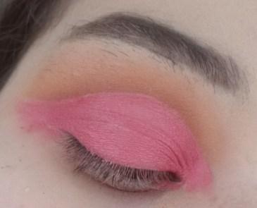 Pink Rose Cut Crease