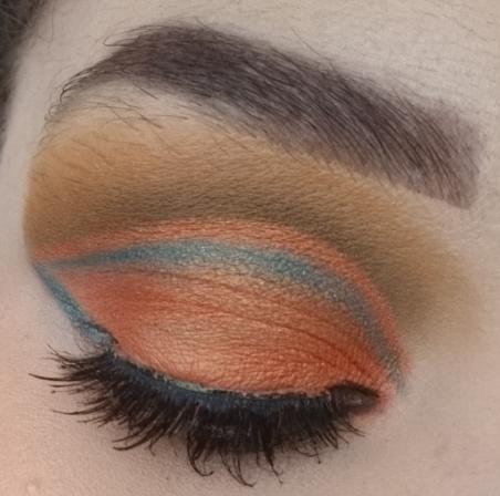 Tribe Goddess makeup look