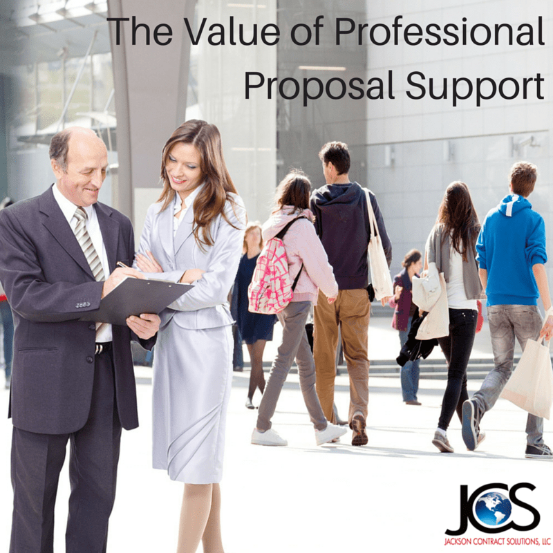 The Value of Professional Proposal Support
