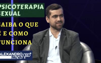 Psicólogo Clínico e Psicoterapeuta Sexual Alexandro Paiva no Programa de TV 'VOCÊ EM DIA'