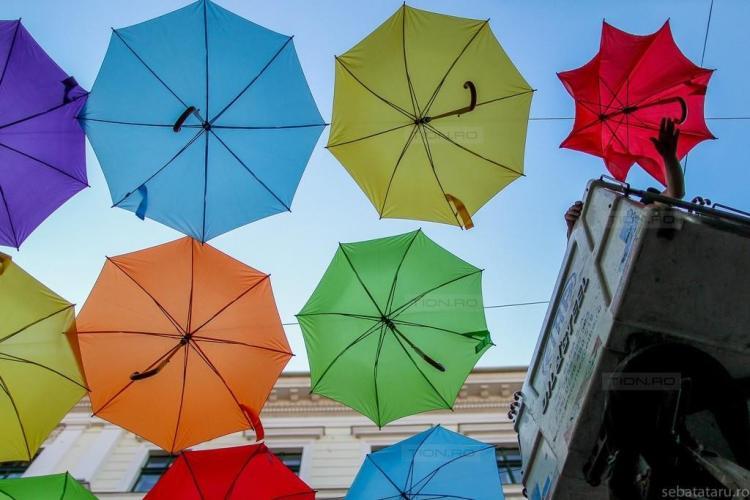 The Colorful Umbrellas are back!