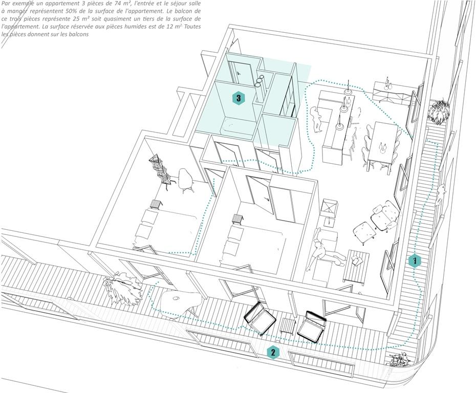 30 Housing Units At Vitry Sur Seine Alexandru Senciuc