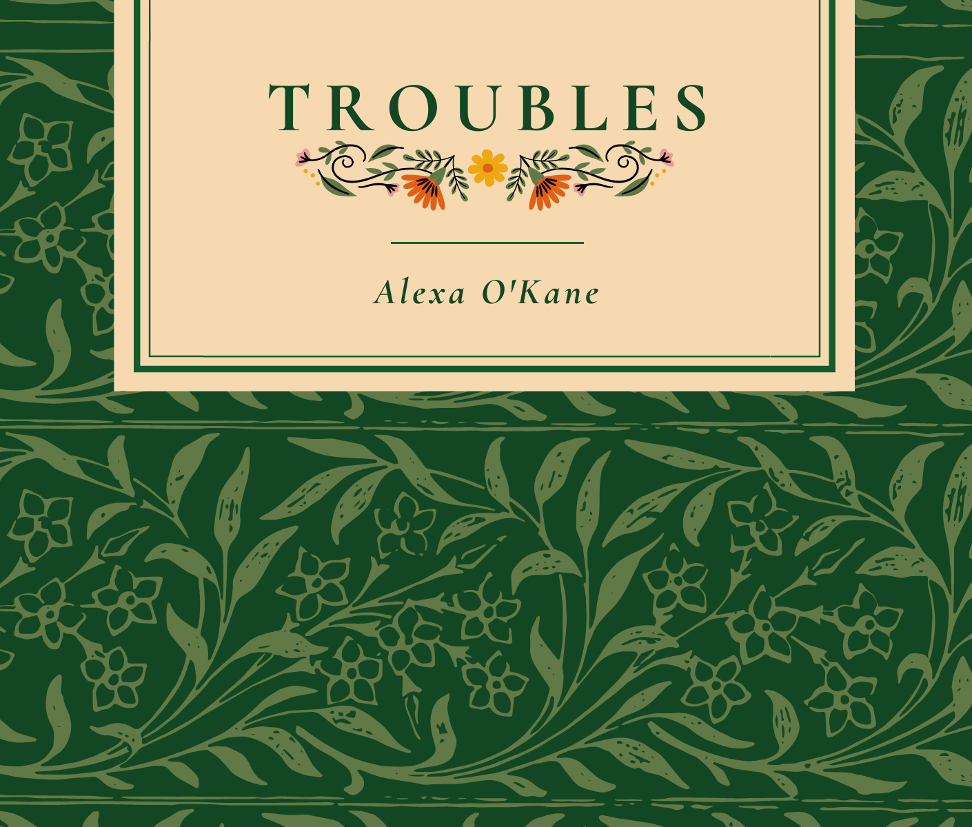 Troubles book cover