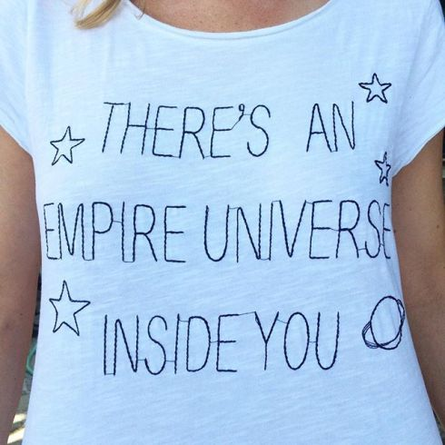 Love this ️🌎 #tshirt #whitetshirt #empireuniverse #daniitaly
