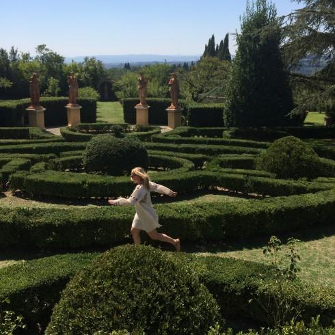 Alexa Peng Maze Villa Catignano