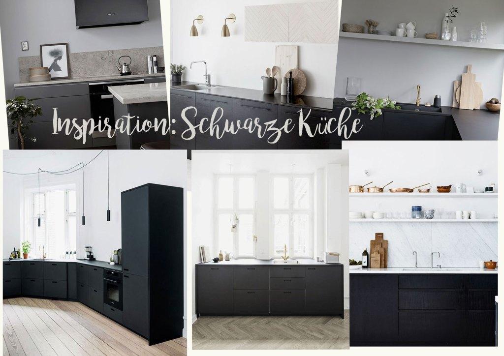 Wunschliste für die Villa Peng: eine schwarze Küche