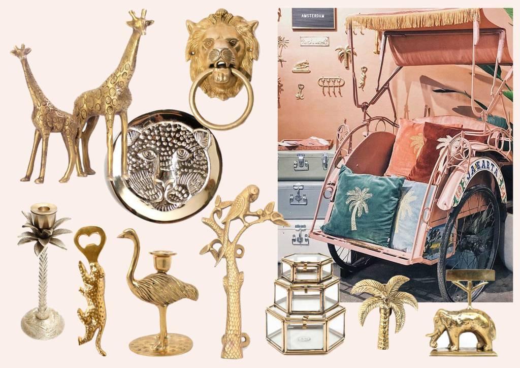 Messing-Liebe: Die schönsten Deko-Teile von Á la Collection