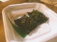 Tofu and caviar