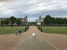 View of the Royal Naval College from the Queen's House
