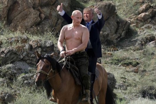 PR trump-putin-horse
