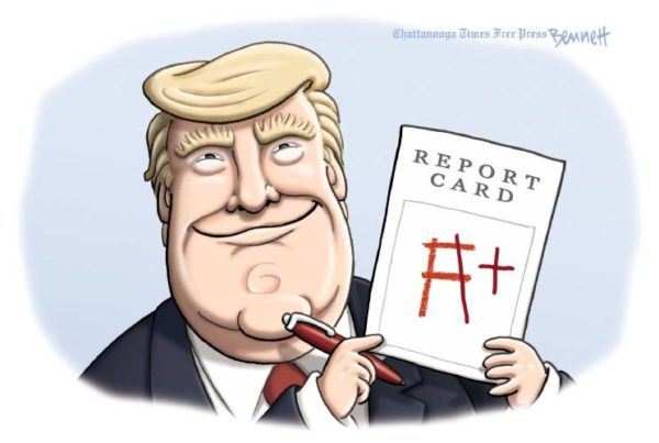 TI report card
