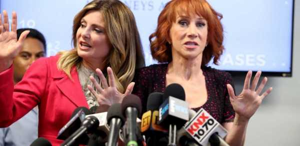 Kathy Griffin press conference