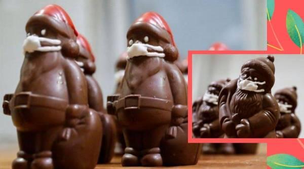 santa chocolates