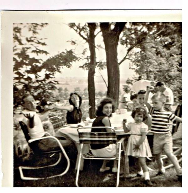 werkheiser family picnic late 1950s BF