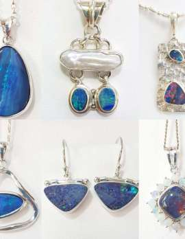 Selection of Australian opals