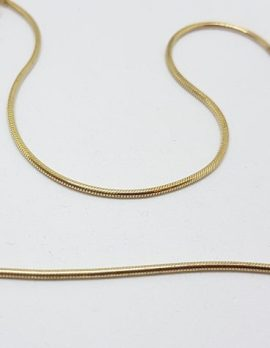 18ct Yellow Gold Thick Snake Chain / Necklace