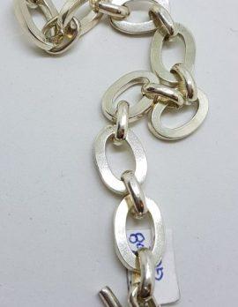 Sterling Silver Heavy Large Link Bracelet
