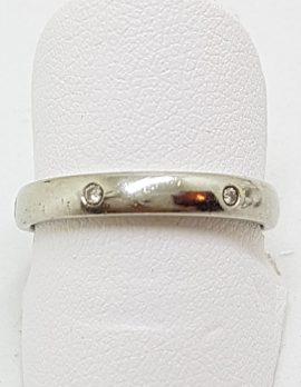 Platinum Eternity Diamond Wedding Band Ring