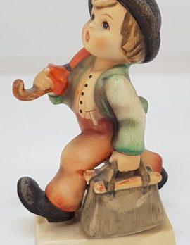 Vintage German Hummel Figurine - Happy Wanderer