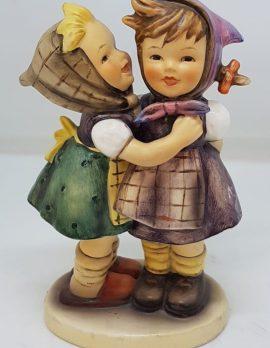 Vintage German Hummel Figurine - Telling Her Secrets