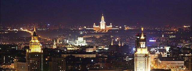 Magnifiques vues de Moscou