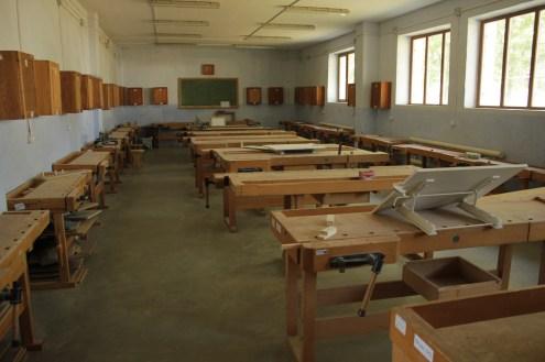 Die Tischlerwerkstatt in Floresti
