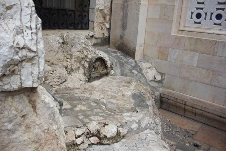 Garten Getsemani (Hier hat Jesus meditiert und gebetet)