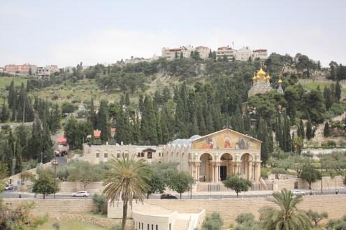 Ölberg, Garten Getsemani und Kirche der Nationen
