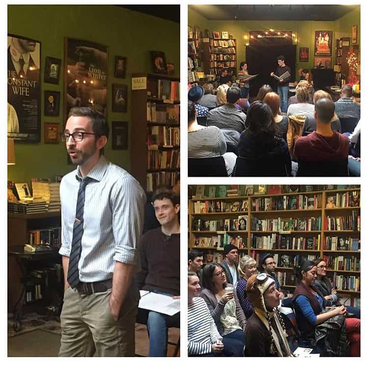 """Atlas Pit"" Reading at Samuel French Bookshop"