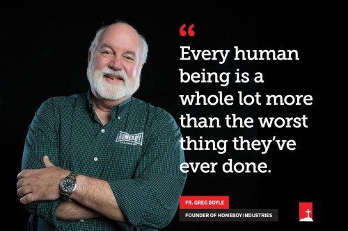 todo ser humano é muito mais do que a pior coisa que fez