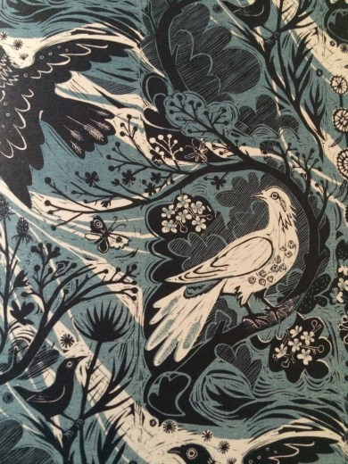 Mark Hearld (linocut)