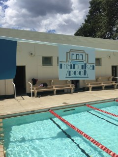 Making a splash Art Deco style at Manuka Pool