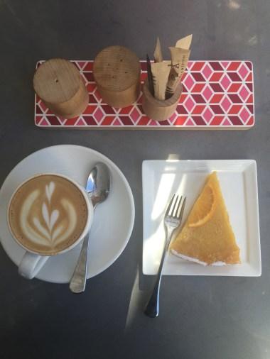 Lemon tart at National Gallery cafe