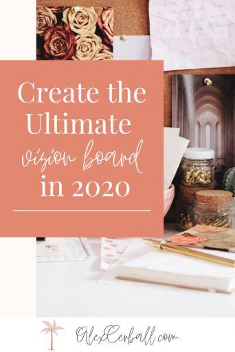 vision board ideas 2020