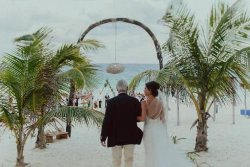 boho wedding tulum