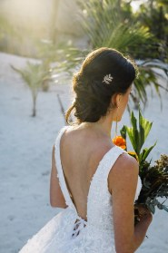 bride hair style for shooting