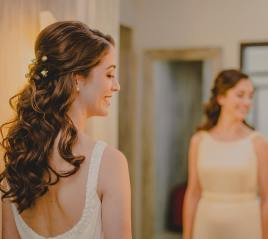 Bride Lucia hairstyle
