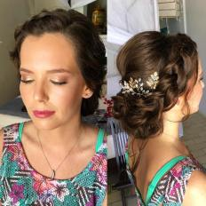 Fiona bridal hair and make up, tulum elopement, riviera maya, mexico