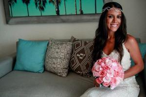 Bride Johanna beauty photo in panama jack resort in Cancun,riviera maya,mexico
