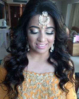 indianbride hair and makeup