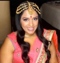 indianbride ready for sangeet night at el dorado royale