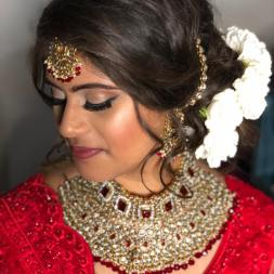 payal beauty makeup for her wedding day