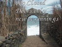 no closed doors