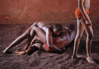 Indian Mud Wrestlers