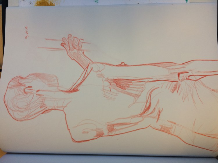 Drawing of a woman, 1 min, on oct 27, 2016, by Alex Feliciano