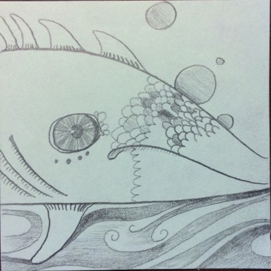 Fish with scales