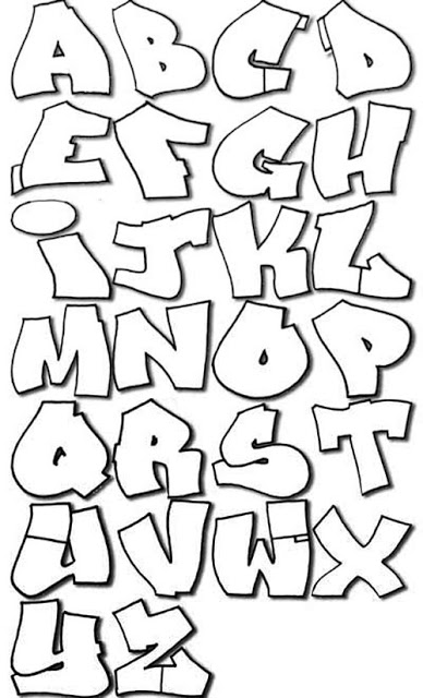 wavy-graffiti-alphabet