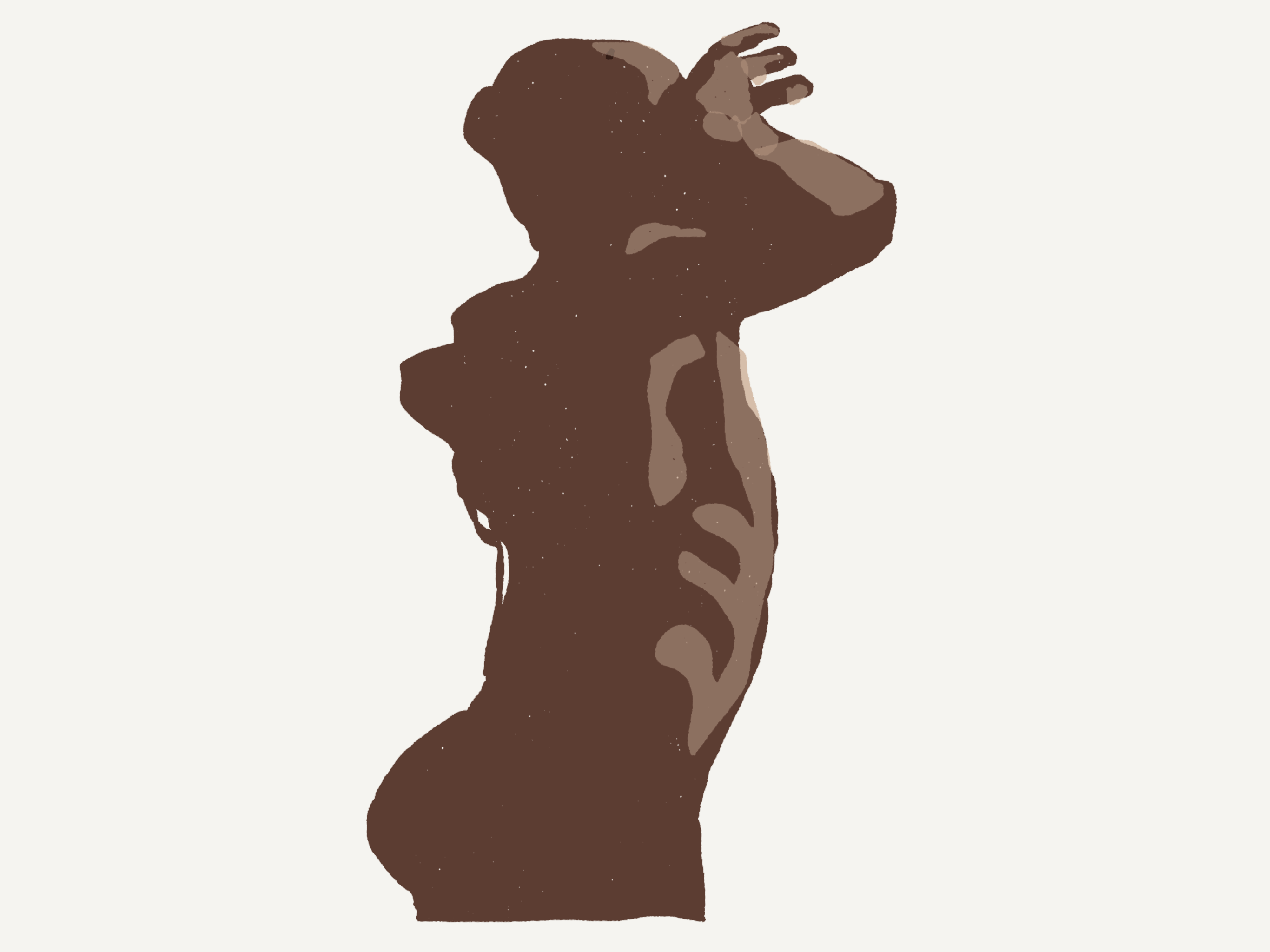 5 minute figure drawing group, Alex Feliciano