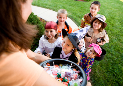 Image result for handing out candy halloween tumblr