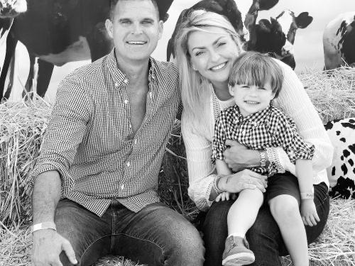 Alex Natalia Clarke Family